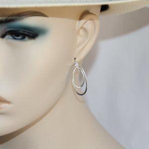 Jacmel Mauritus Sterling Silver Spiral Earrings